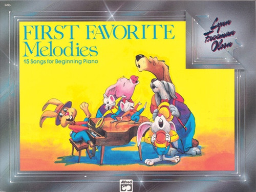 First Favorite Melodies: 15 Songs for Beginning Piano
