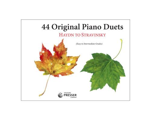 44 Original Piano Duets: Haydn to Stravinsky - Easy to Intermediate Grades