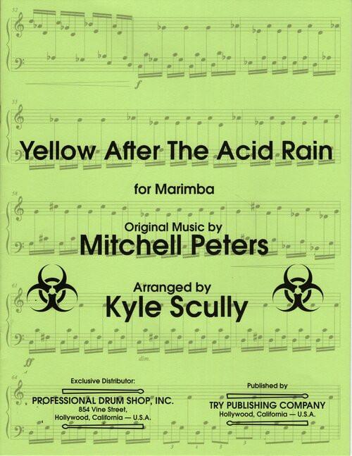Yellow After the Acid Rain for Marimba