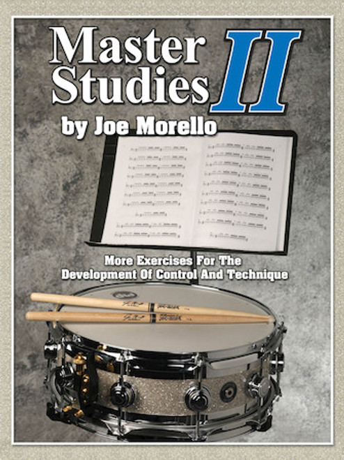 Master Studies II - More Exercises for the Development of Control and Technique