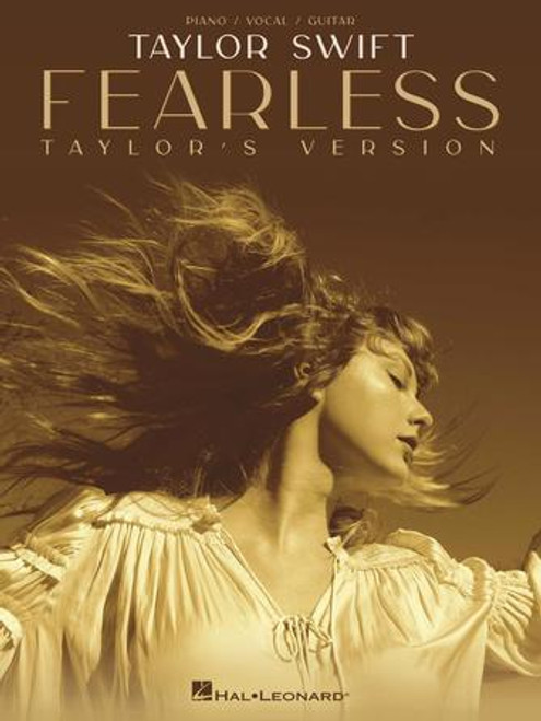 Fearless (Taylor's Version) for Piano/Vocal/Guitar