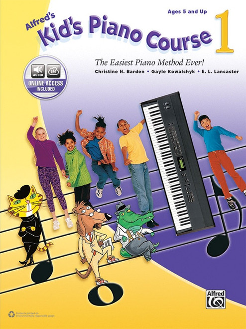 Alfred's Kid's Piano Course Book 1 (with Online Access)