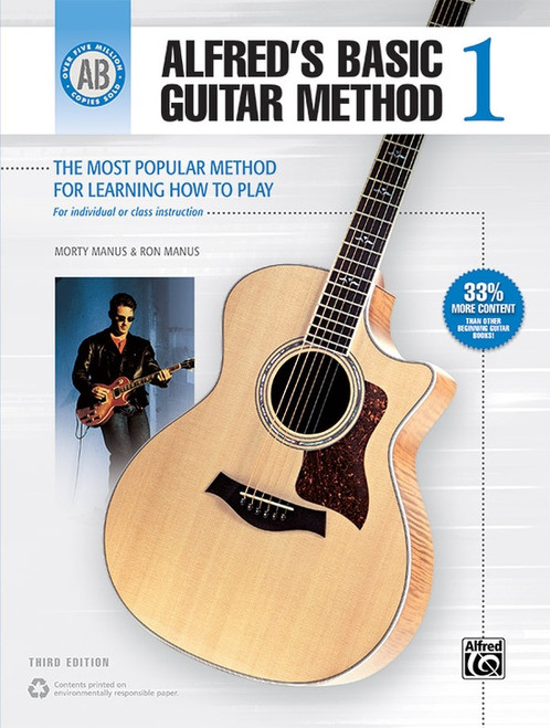 Alfred's Basic Guitar Method Book 1 (3rd Edition)