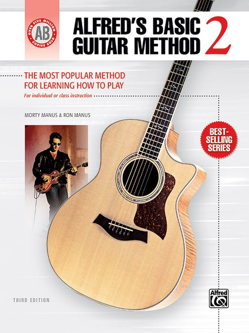 Alfred's Basic Guitar Method Book 2 (3rd Edition)