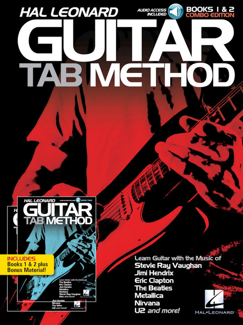 Hal Leonard Guitar Tab Method Books 1 & 2 (Combo Edition) (Audio Access Included)