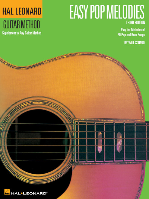 Hal Leonard Guitar Method - Easy Pop Melodies