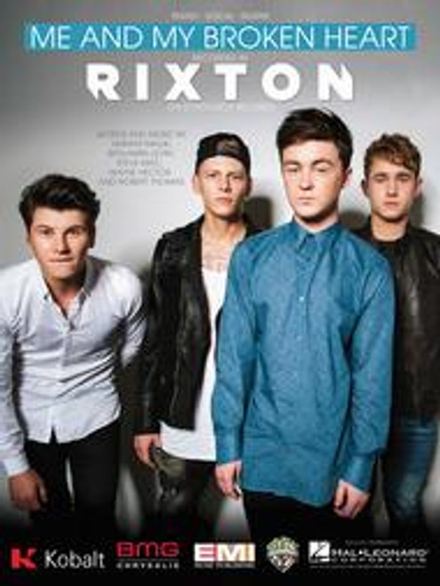Rixton - Me and My Broken Heart for Piano/Vocal/Guitar