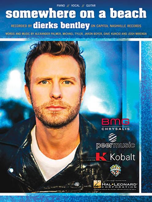 Dierks Bentley - Somewhere On a Beach for Piano/Vocal/Guitar