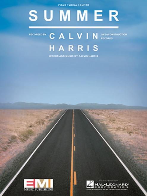 Calvin Harris - Summer for Piano/Vocal/Guitar