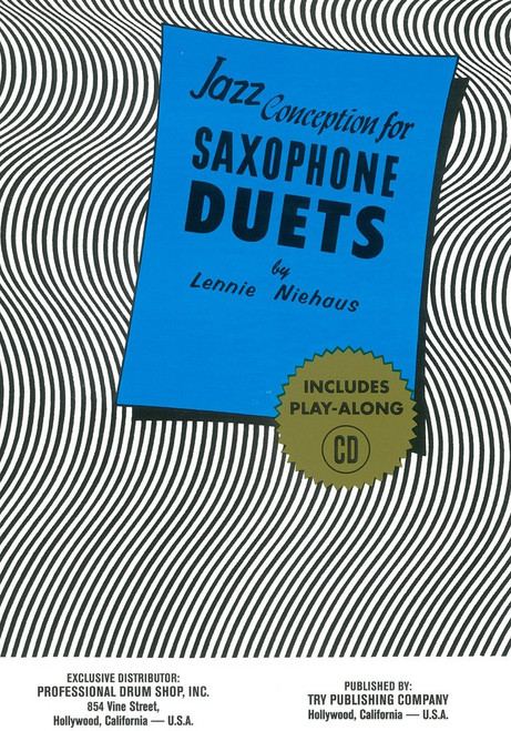Jazz Conception for Saxophone Duets (CD Included)