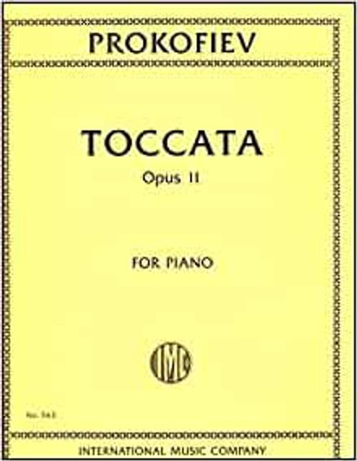 Prokofiev - Toccata, Opus 11 for Piano
