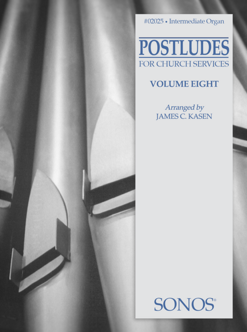 Postludes for Church Services Volume 8 for Organ