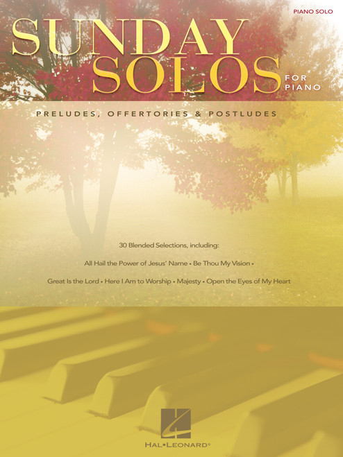 Sunday Solos for Piano Solo