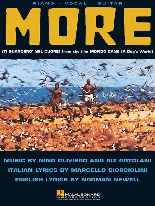 More (Theme from Mondo Cane) for Piano/Vocal/Guitar