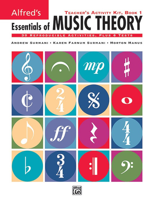 Alfred's Essentials of Music Theory Book 1 - Teacher's Activity Kit