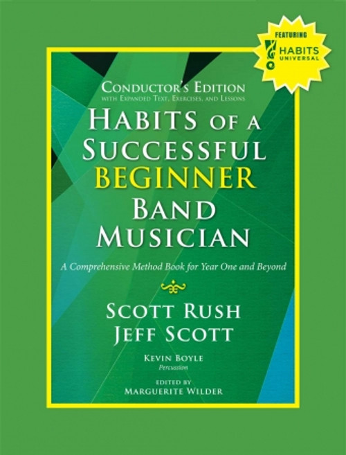 Habits of a Successful Beginner Band Musician - Conductor's Edition (Online Access Included)