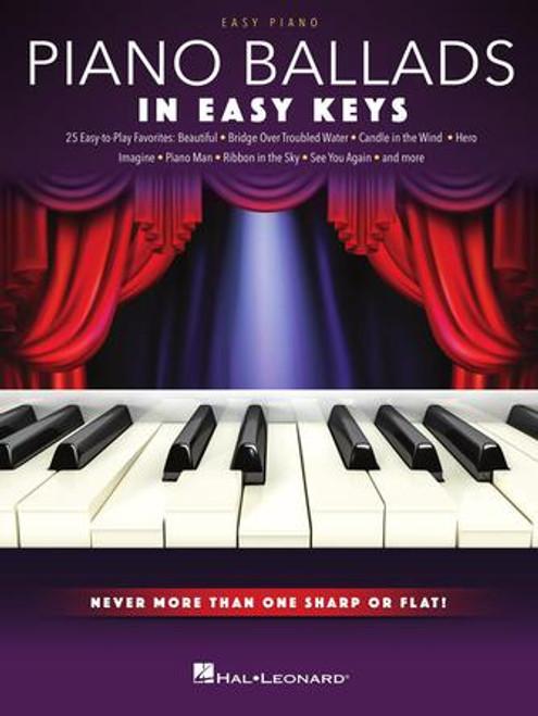 Piano Ballads in Easy Keys