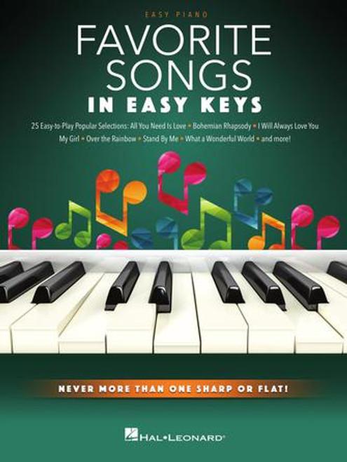 Favorite Songs in Easy Keys