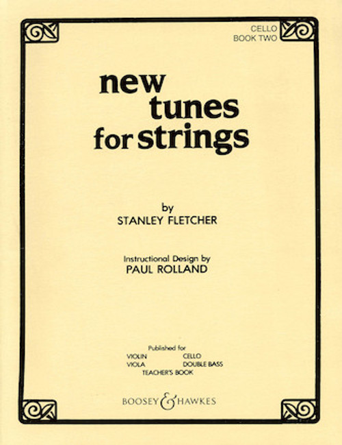 New Tunes for Strings - Cello - Book 2 - By Stanley Fletcher