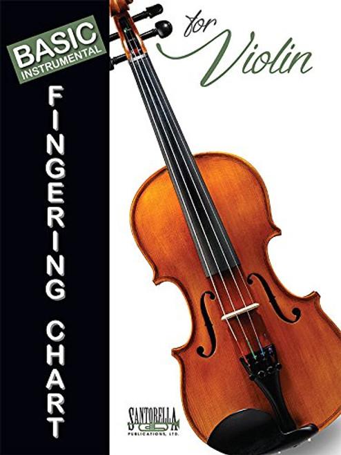 Basic Instrumental Fingering Chart for Violin
