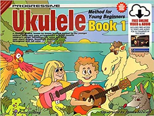 Progressive Ukulele Method for Young Beginners Book 1