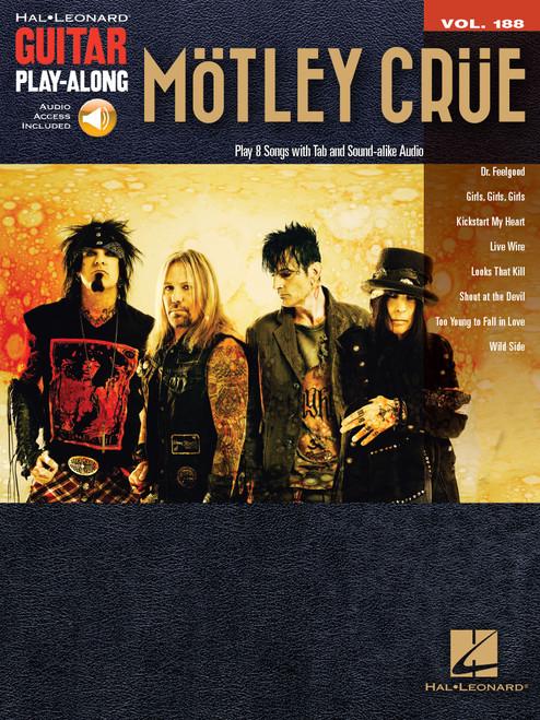 Mötley Crüe Guitar Play-Along (Audio Access Included)