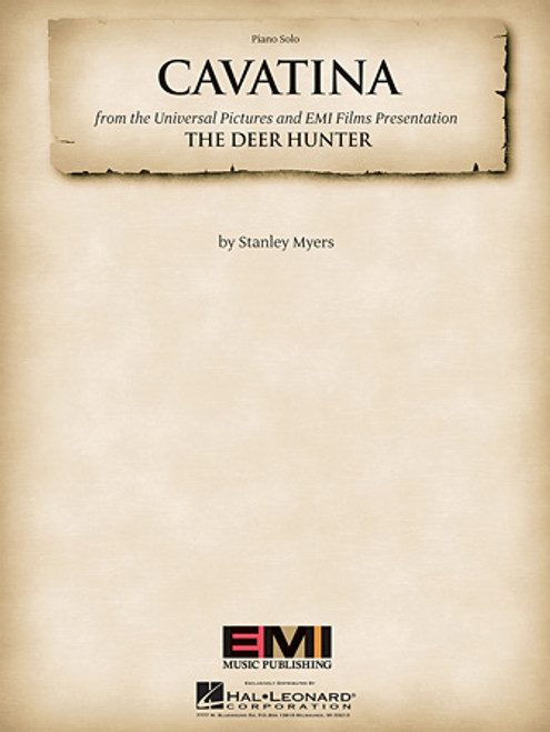 Cavatina (from the Universal Pictures and EMI Films Presentation The Deer Hunter) - Piano Solo