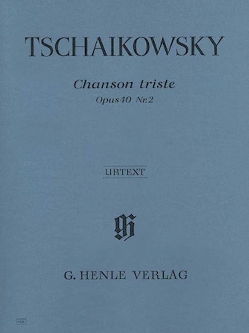 Tschaikowsky - Chanson Triste Op. 40, No. 2