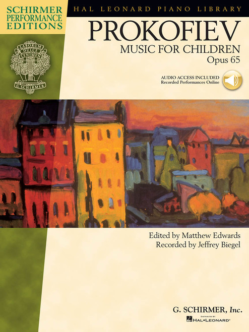 Prokofiev - Music for Children, Op. 65 (Audio Access Included)