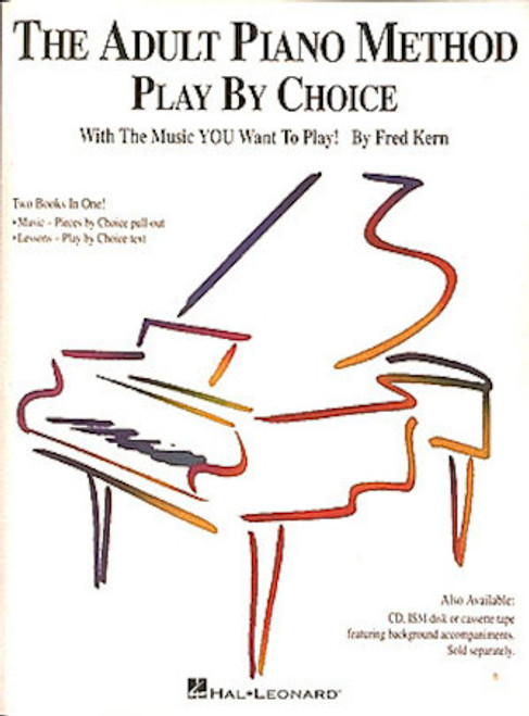 Adult Piano Method Play By Choice