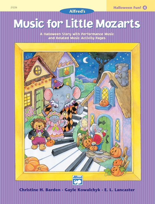Music for Little Mozarts: Halloween Fun! Book 4
