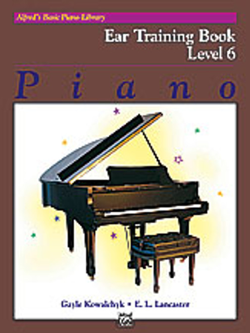 Alfred's Basic Piano Library: Ear Training - Level 6