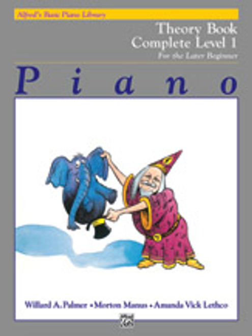 Theory - Level 1 (Alfred's Basic Piano Library Complete for the Later Beginner)