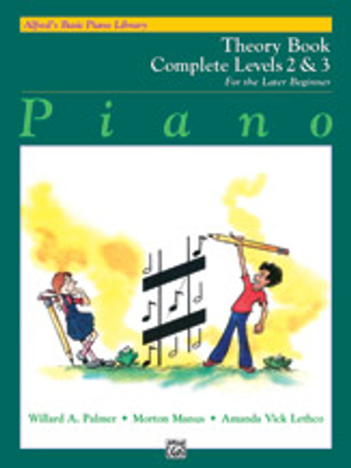 Theory - Levels 2 & 3 (Alfred's Basic Piano Library Complete for the Later Beginner)