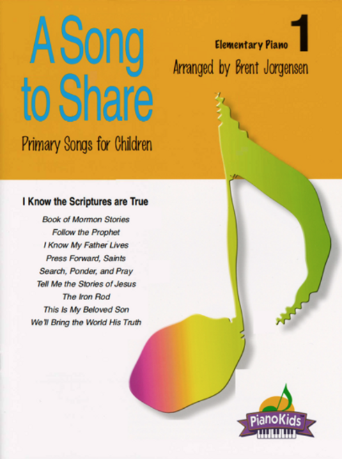A Song to Share Volume 1 - Elementary Piano Songbook