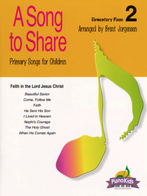A Song to Share Volume 2 - Elementary Piano Songbook