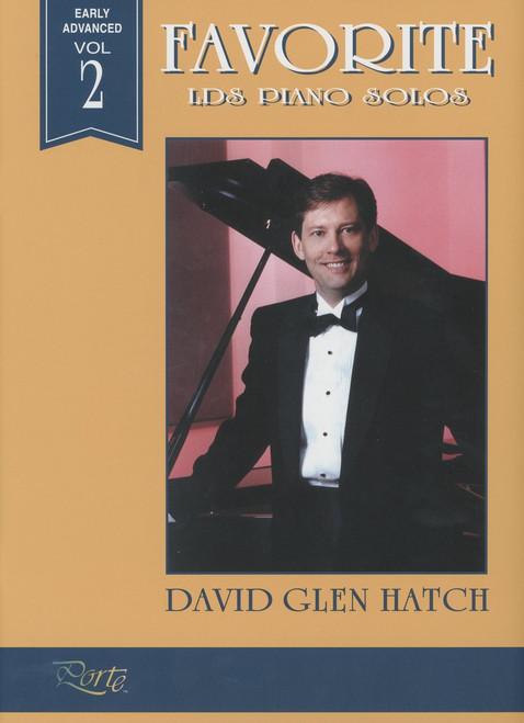 Favorite LDS Piano Solos Volume 2 - David Glen Hatch - Piano Solo Songbook