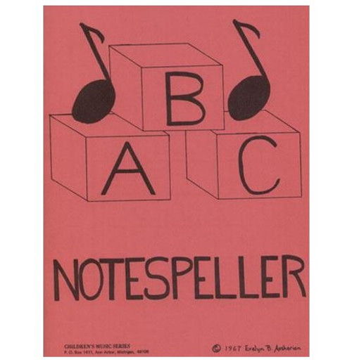 ABC Notespeller - Book 1 for Violin by Evelyn B. Avsharian