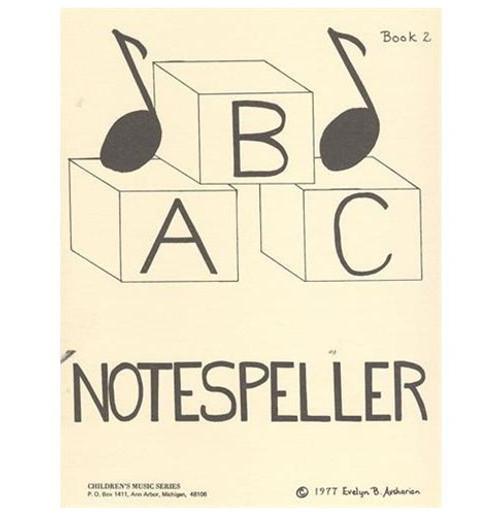 ABC Notespeller - Book 2 for Violin by Evelyn B. Avsharian