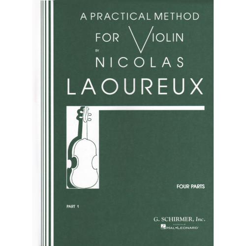 A Practical Method for Violin Part 1 by Nicolas Laoureux