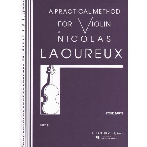 A Practical Method for Violin Part 2 by Nicolas Laoureux