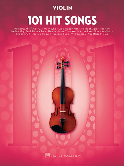101 Hit Songs for Violin