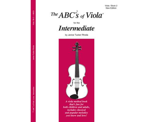 ABC's of Viola for the Intermediate Book 2