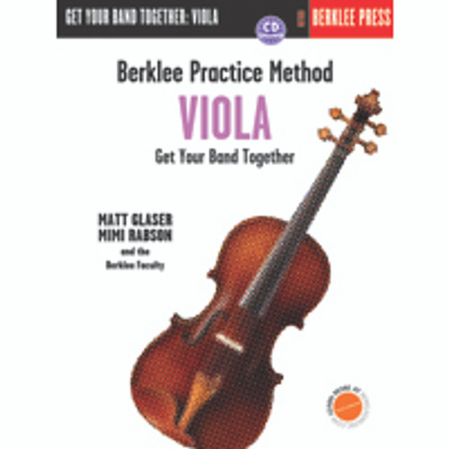 Berklee Practice Method - Get Your Band Together: Viola (Book/CD Set) by Matt Glaser & Mimi Rabson
