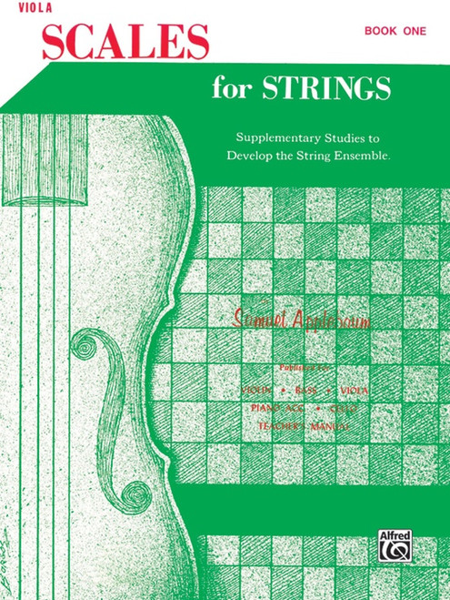 Scales for Strings for Viola Book One by Samuel Applebaum