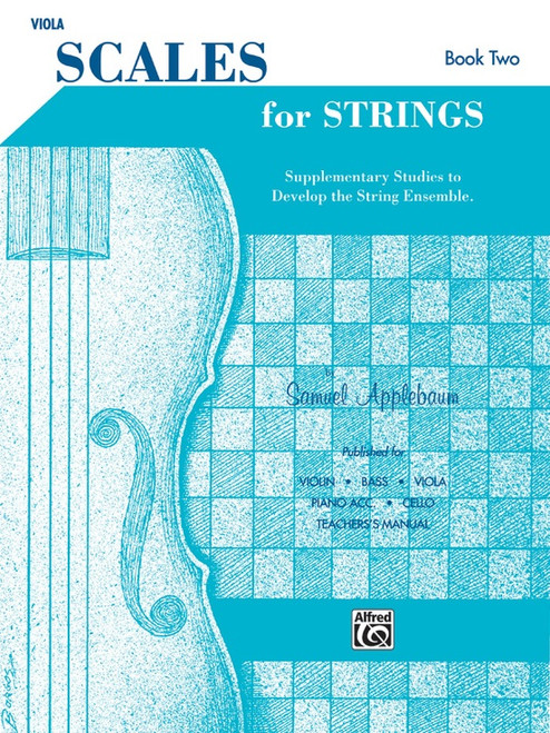 Scales for Strings for Viola Book Two by Samuel Applebaum