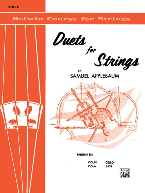 Duets for Strings Book 1 for Viola by Samuel Applebaum