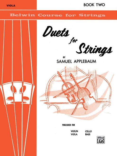 Duets for Strings Book 2 for Viola by Samuel Applebaum