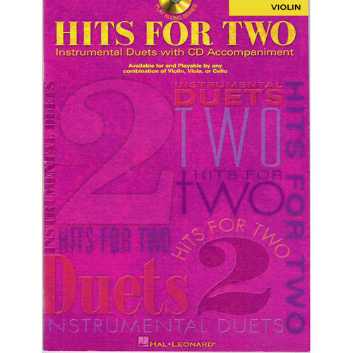 Hal Leonard Play-Along for Viola: Hits for Two (Book/CD Set)