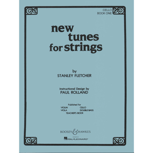 New Tunes for Strings for Cello Book 1 by Stanley Fletcher